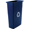 waste receptacles: Rubbermaid Commercial - Slim Jim® Recycling Container