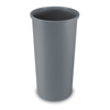 Safco-round-containers: Rubbermaid Commercial - Untouchable® Large Plastic Round Waste Receptacle