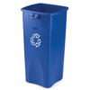 Recycling Containers: Rubbermaid Commercial - Untouchable® Square Recycling Container
