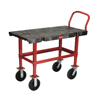 Janitorial Carts, Trucks, and Utility Carts: Rubbermaid Commercial - Bench-Height Platform Truck