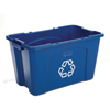Recycling Containers: Rubbermaid Commercial - Stacking Recycle Bin