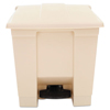 Rubbermaid Commercial Indoor Utility Step-On Waste Container RCP 6143 BEI