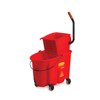 rubbermaid 30 gallon bucket: Rubbermaid Commercial - WaveBrake® Side-Press Wringer/Bucket Combo