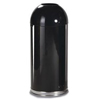 Safco-specialty-receptacles: Rubbermaid Commercial - Fire-Resistant Steel Dome Waste Receptacle