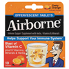 cough drops: Reckitt Benckiser - Airborne® Immune Support Effervescent Tablet