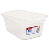 storage: Rubbermaid - Clever Store Snap-Lid Container