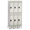 lockers & storage cabinets: Safco® Double-Tier Lockers