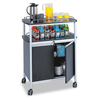 Safco-hospitality-carts: Safco® Mobile Beverage Cart