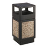 Safco-with-side-opening: Safco® Canmeleon™ Aggregate Panel Receptacles