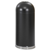 Safco-with-open-top: Safco® Dome Top Receptacle with Open Top