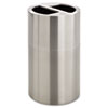 Safco-recycling-containers: Safco® Dual Recycling Receptacle