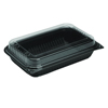 plastic containers: Cup Company Hinged-Lid Dinner Box