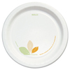 disposable dinnerware: Solo - Bare™ Treated Paper Dinnerware Plate