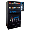 vendingmachines: Seaga - Manual Deluxe Max Combo Snack/Beverage with Super $250 Capacity Bill Changer