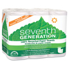 Seventh-generation-kitchen-towels: Seventh Generation - 100% Recycled Paper Towel Rolls Right Size Sheets