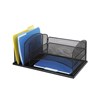 Safco: Safco - Onyx™ Desk Organizer With Three Horizontal And Three Upright Sections
