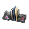 Safco: Safco - Onyx™ Mesh Desk Organizer with Three Vertical Sections/Two Baskets