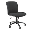 Safco Uber™ Big and Tall Mid Back Chair SFC 3491BL