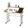 double markdown: Safco - Height Adjustable Split Level Workstation