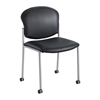 Safco Diaz™ Guest Chair - Black Vinyl SFC 4194BV