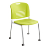Safco Vy™ Straight Leg Stack Chair with Caster SFC 4291GS