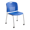 Safco Vy™ Straight Leg Stack Chair with Caster SFC 4291LA