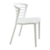 Safco Entourage™ Stack Chair - White SFC 4359WH