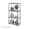 Safco Industrial Wire Shelving, 36 x 18 SFC 5285BL