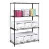 metal shelving units: Safco - Industrial Wire Shelving