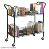 book carts: Safco - Wire Book Cart