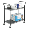 Safco-motion-activated: Safco - Two Shelf Wire Utility Cart