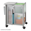 Safco Impromptu® Personal Mobile Storage Center with Hanging File SFC 5378GR