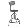 leatherchairs: Safco - Diesel™ Industrial Stool with Back