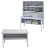 mailroom stations: Safco - E-Z Sort® Sorting Table Base Only