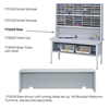 mailroom stations: Safco - E-Z Sort® Riser