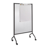 Safco Impromptu® Full Polycarbonate Screen, 42 x 72 SFC 8510BL