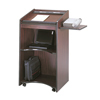Safco Executive Mobile Lectern SFC 8918MH