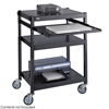 Safco Steel Adjustable Projector Cart SFC 8934BL