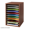 Safco Vertical Desk Top Sorter - 11 Compartment SFC 9419CY