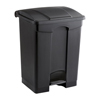 Safco-trash-receptacles: Safco - Plastic Step-On - 17 Gallon