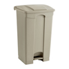 Safco-plastic-receptacles: Safco - Plastic Step-On - 23 Gallon