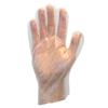 Safety-zone: Safety Zone - Polyethylene Disposable Gloves - Large