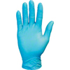 Safety-zone-vinyl-gloves: Safety Zone - Blue Premium Synthetic Disposable Gloves, Powder Free, Non-Medical