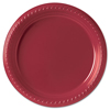 disposable dinnerware: SOLO® Cup Company Party Plastic Plates