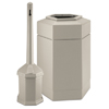 Smokers'-outpost-trash-receptacles: Smokers' Outpost - Site Saver™ Combo - Ash and Trash Combination Pack