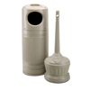 Smokers'-outpost-trash-receptacles: Smokers' Outpost - Standard LitterMate™ Combo - Ash and Trash Combination Pack
