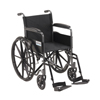 Wheelchairs: Drive Medical - Silver Sport 1 Wheelchair w/Full Arms & Swing away Removable Footrest