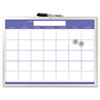 The Board Dudes The Board Dudes Magnetic Dry Erase Monthly Planner BDU 44070VA4