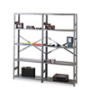 "wire shelving: Tennsco 75"" High Commercial Steel Shelving, Extra Shelves"