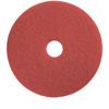 Floor Care Equipment: Treleoni - 40 Red Polishing/Cleaning Pad - Conventional 20""